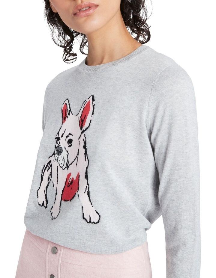 Puppy Intarsia Knit image 4
