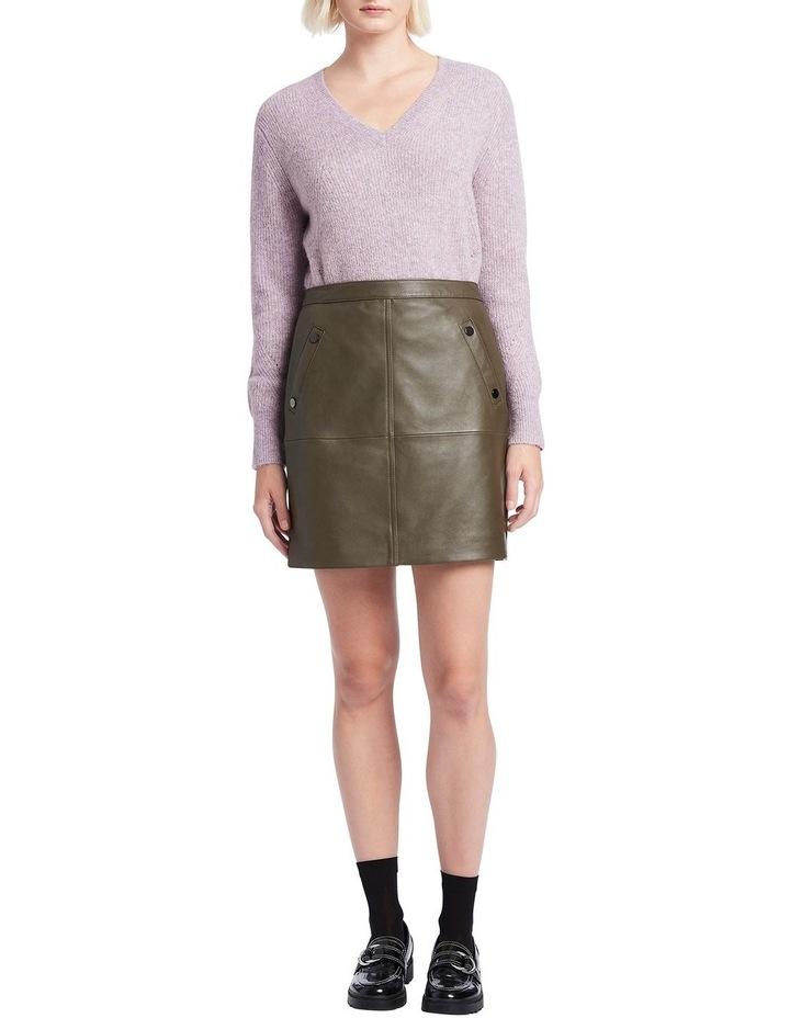 Houston Leather Mini Skirt image 1