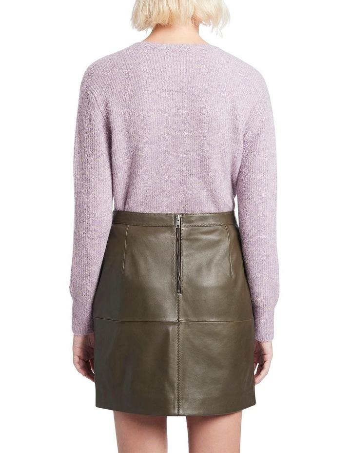 Houston Leather Mini Skirt image 3
