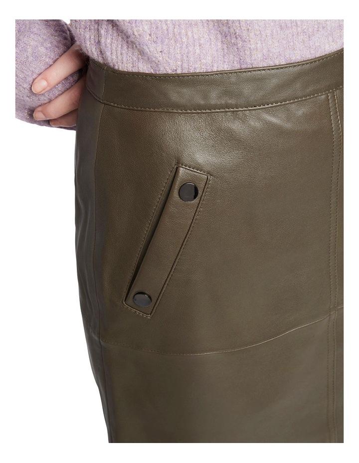 Houston Leather Mini Skirt image 4