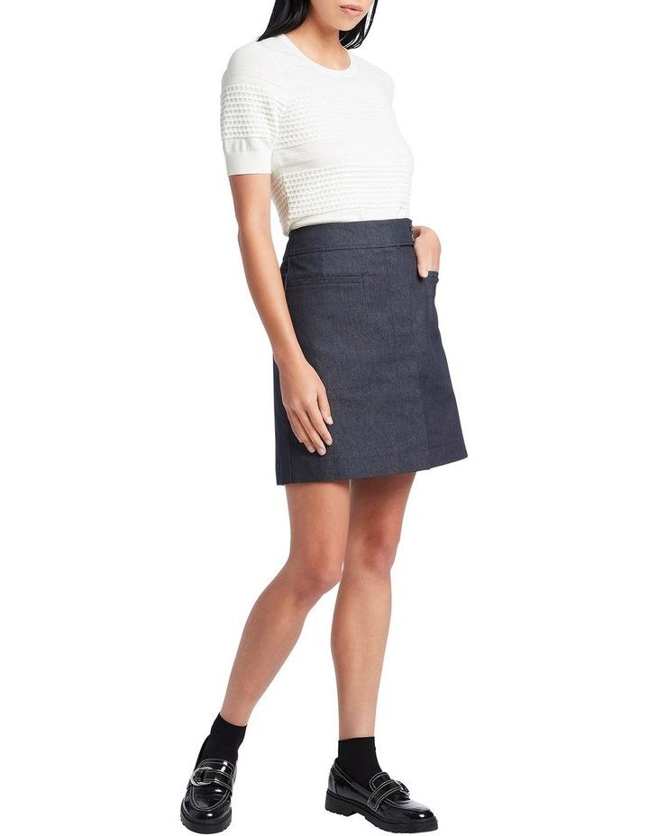 Smart Denim Skirt image 2