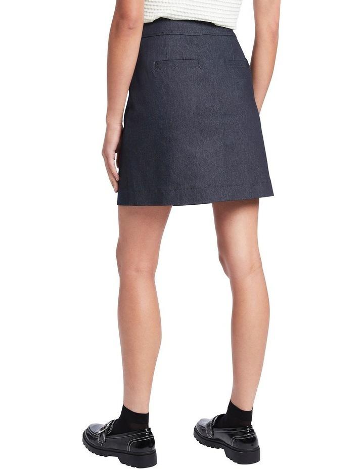 Smart Denim Skirt image 3