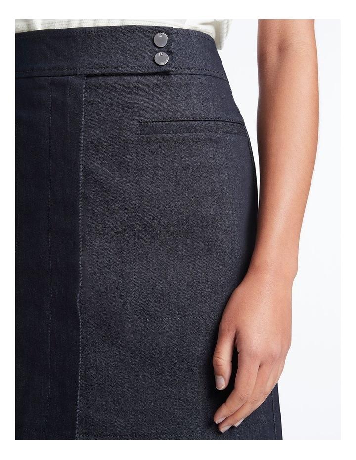 Smart Denim Skirt image 4