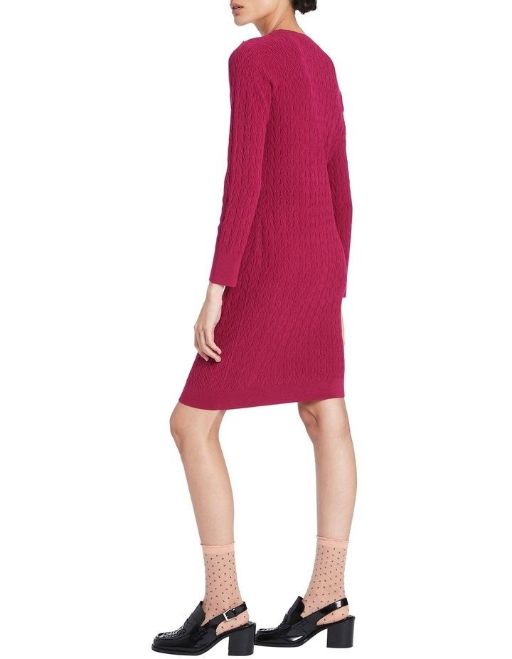 Tara Textured Knit Dress image 3