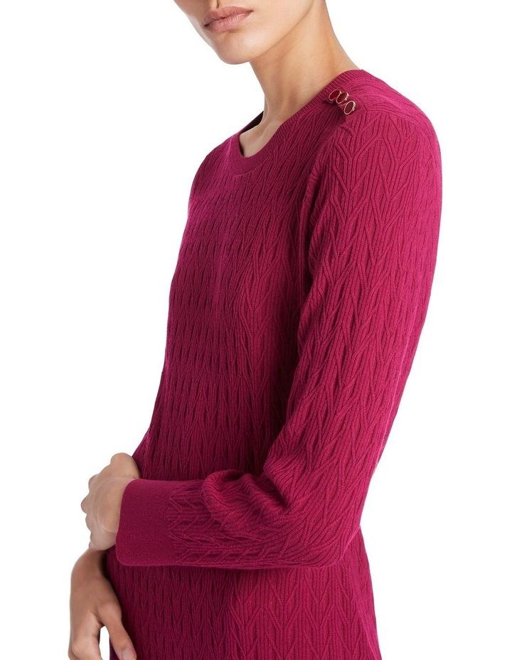 Tara Textured Knit Dress image 4