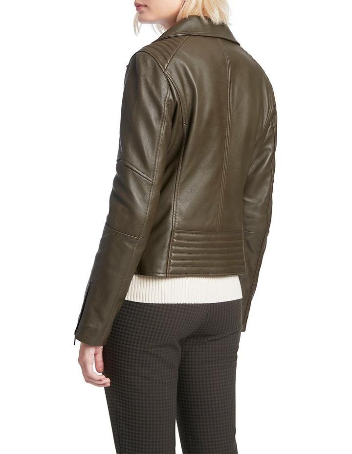Houston Leather Biker Jacket image 3