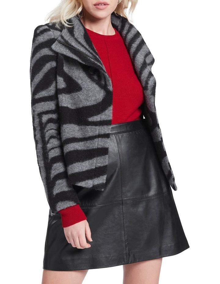 Zebra Lani Felted Wool Jacket image 1