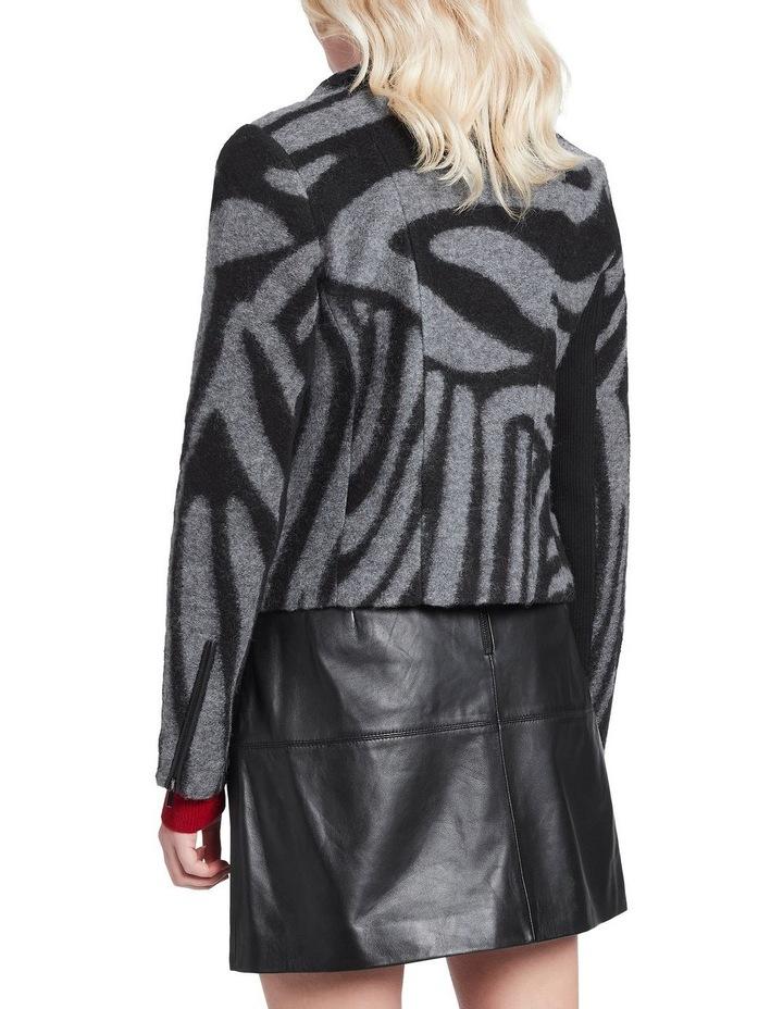 Zebra Lani Felted Wool Jacket image 3