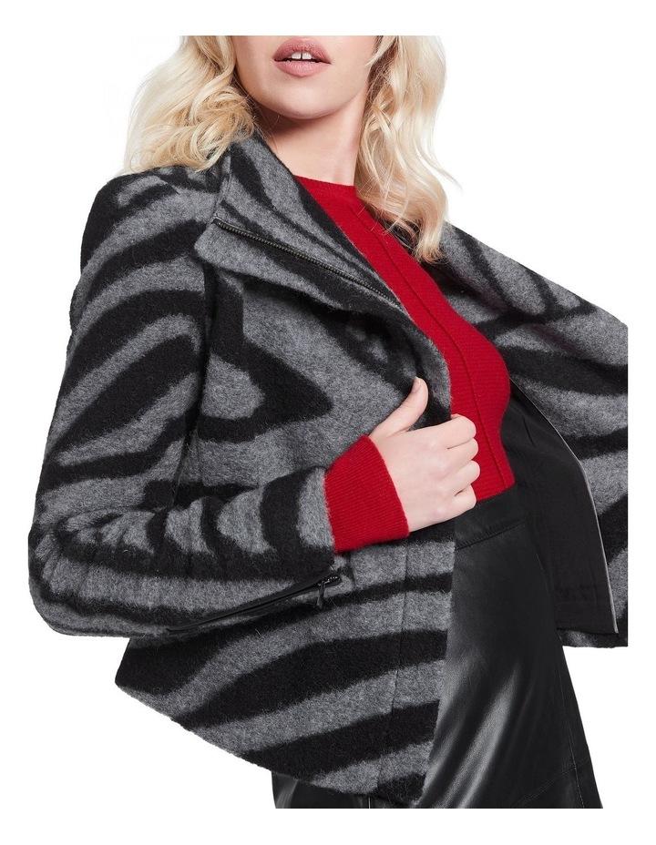 Zebra Lani Felted Wool Jacket image 4