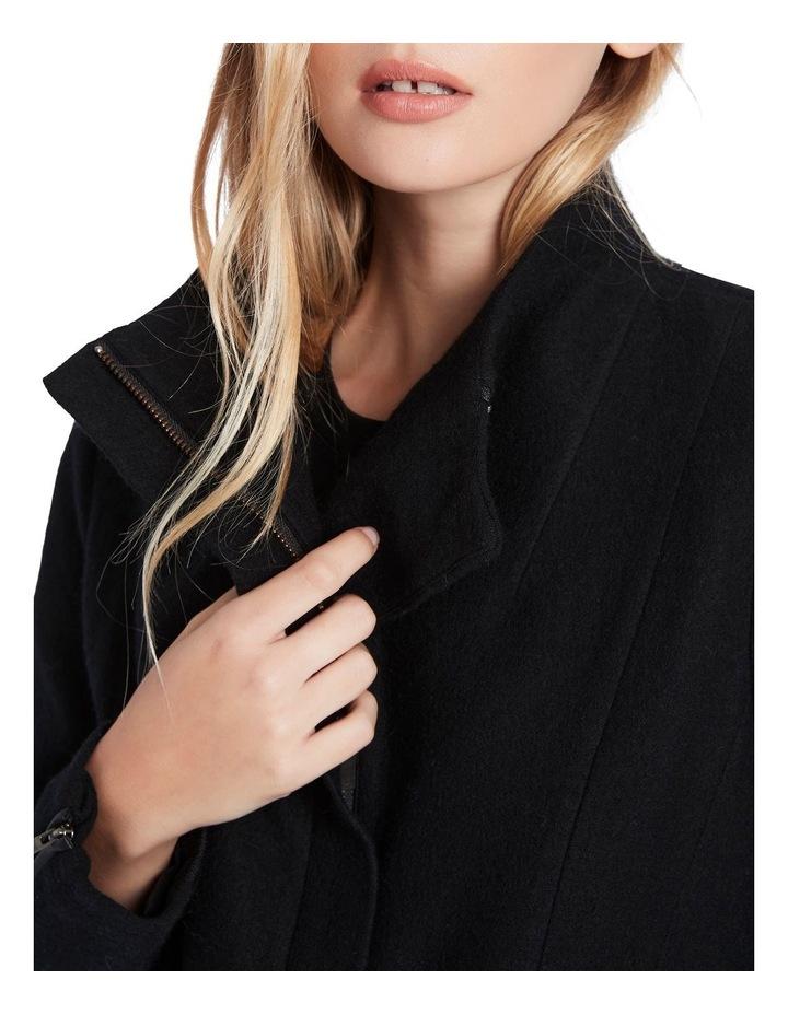 Rose Felted Wool Coat image 4