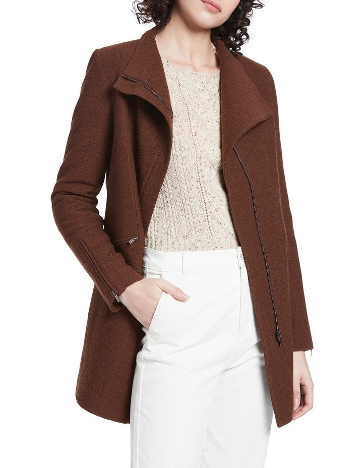 Rose Felted Wool Coat image 1