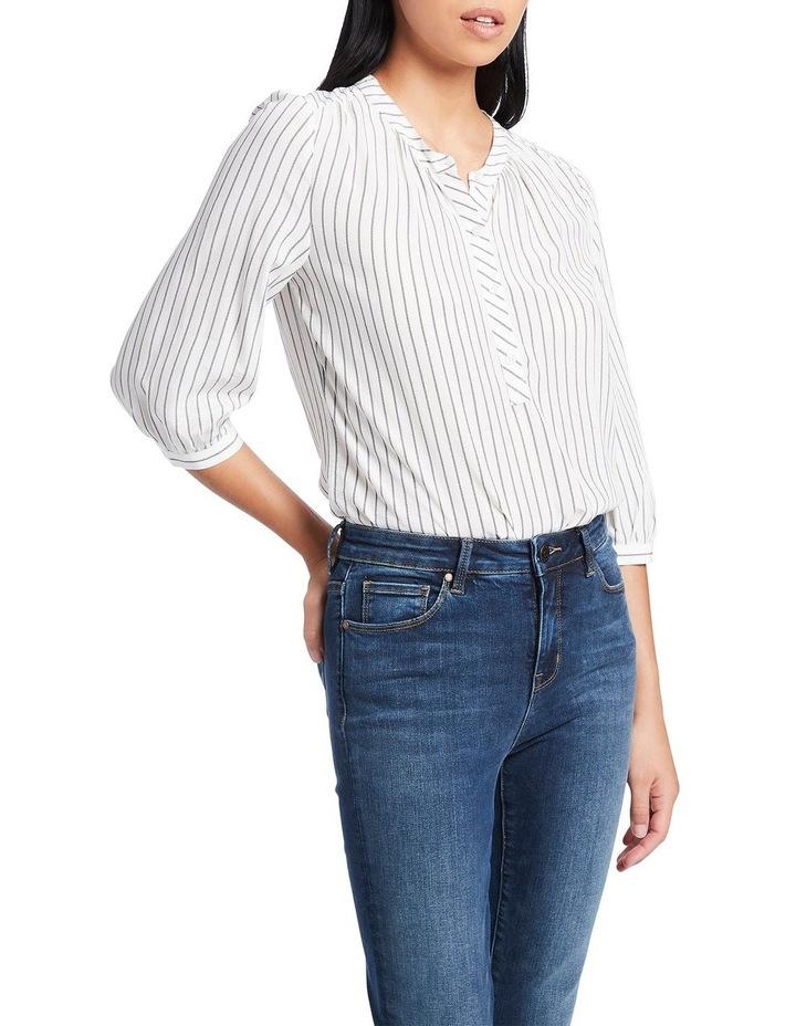 Stripe Away Blouse image 1
