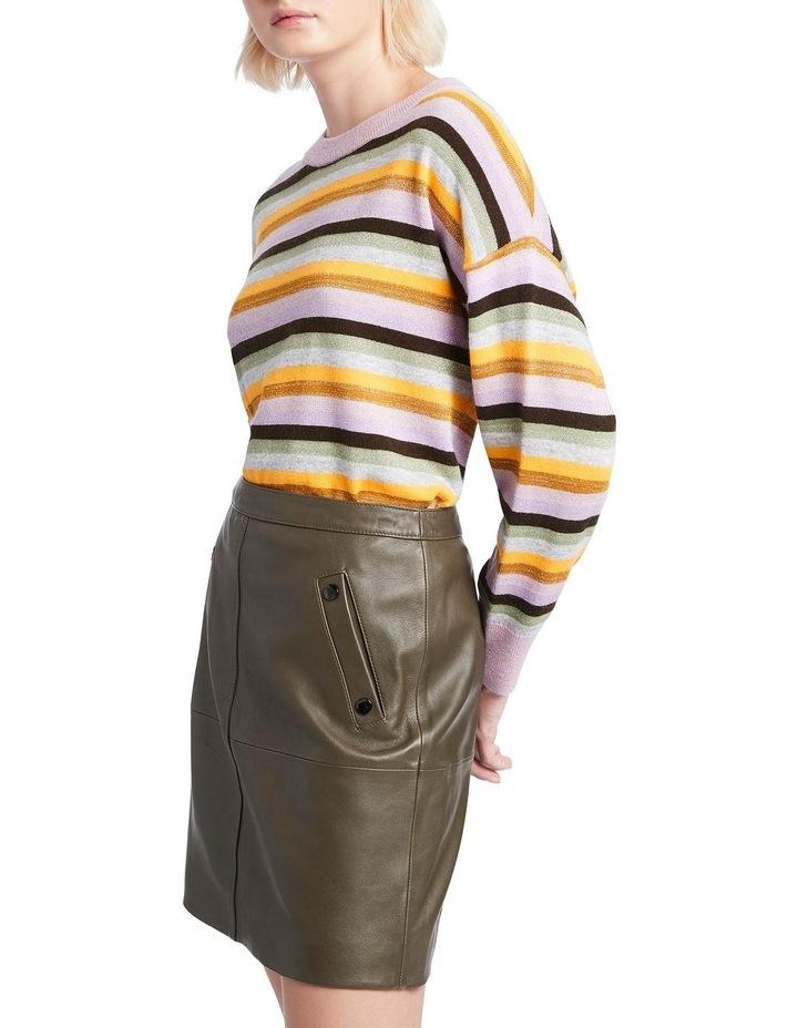 Rainbow Stripe Knit image 1