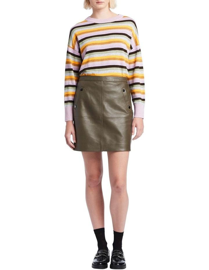 Rainbow Stripe Knit image 2