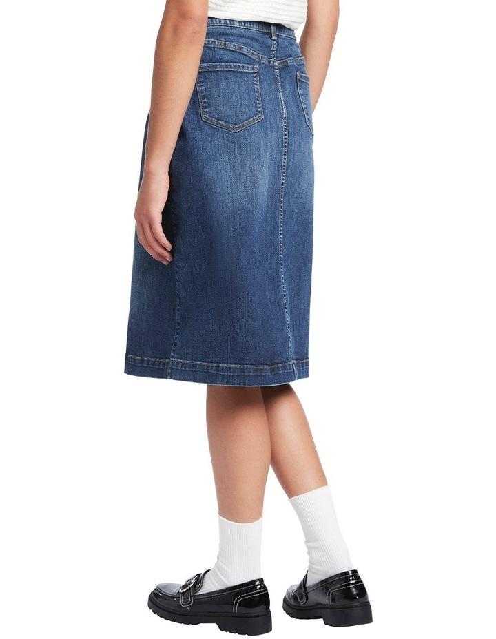 Auburn Denim Skirt image 3