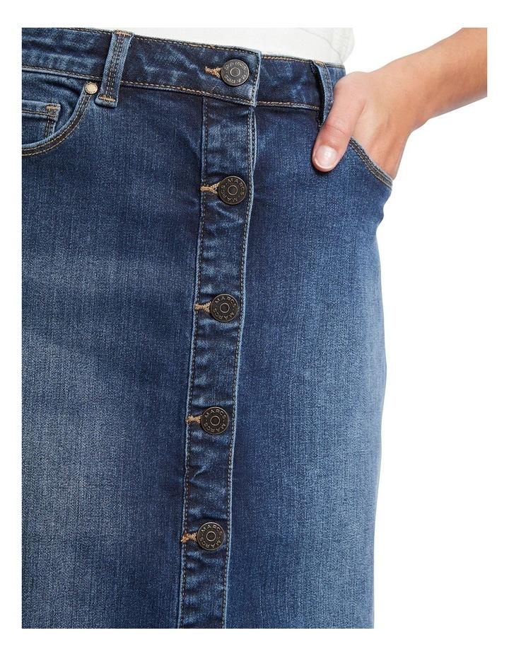 Auburn Denim Skirt image 4