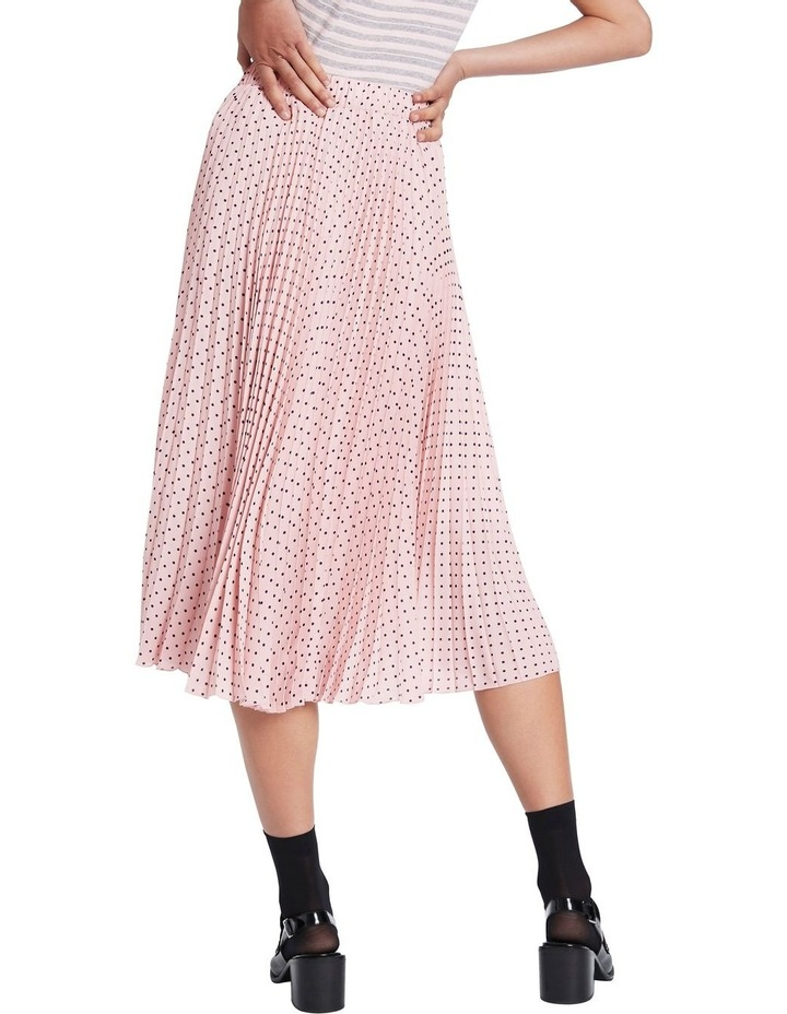 Dot To Dot Pleated Skirt image 3