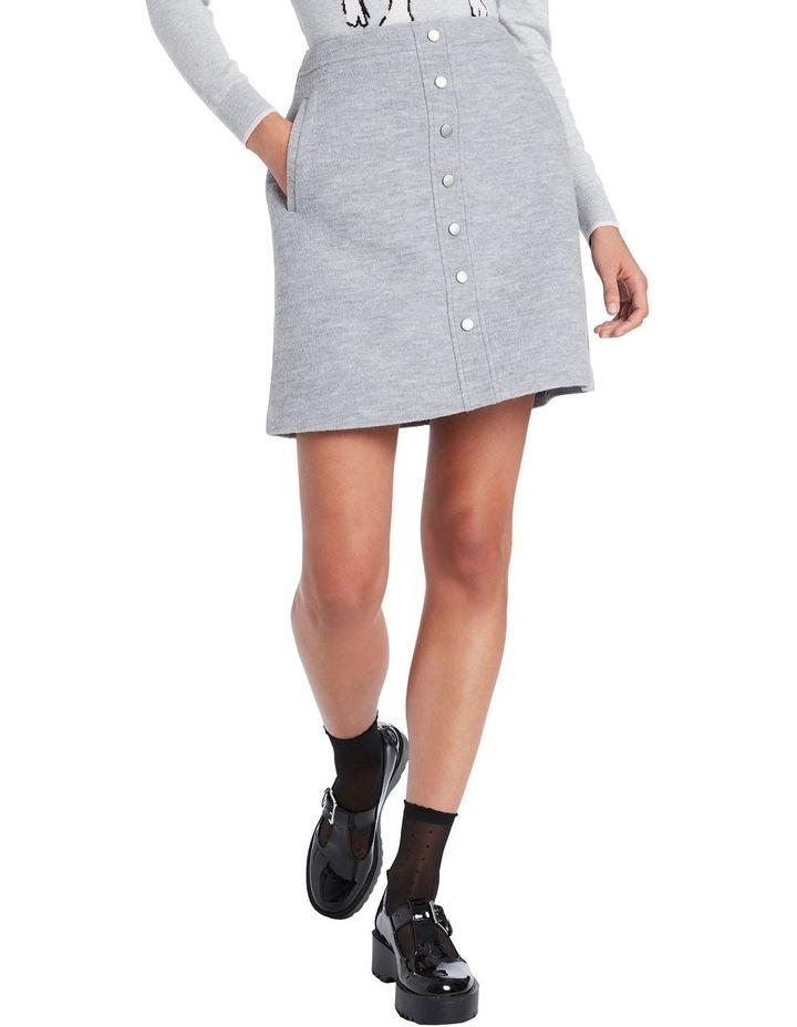Lani Felted Wool Mini Skirt image 2