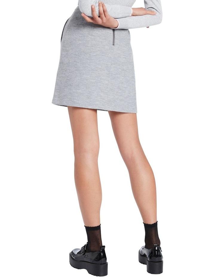 Lani Felted Wool Mini Skirt image 3