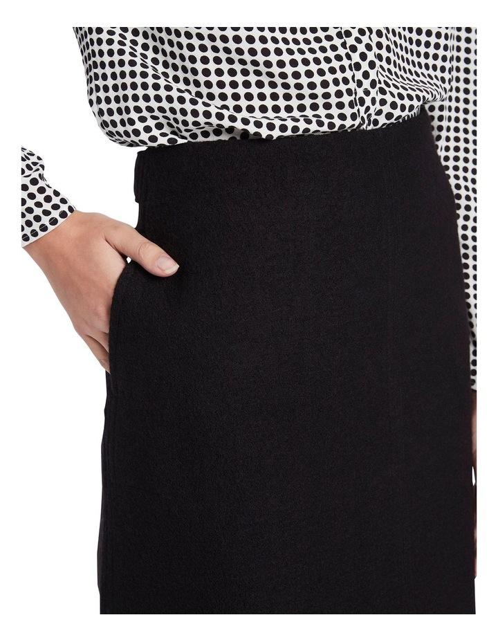 Sierra Felted Wool Mini Skirt image 4