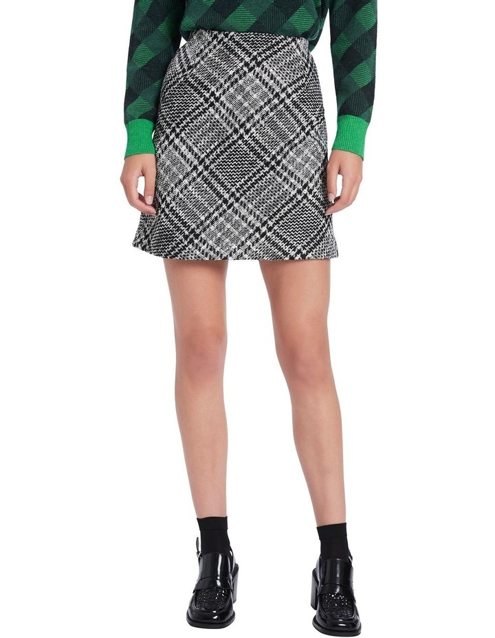 Plaid To Meet You Skirt image 1