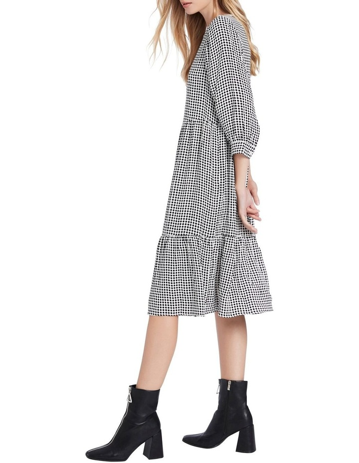 Dotty Printed Midi Dress image 2