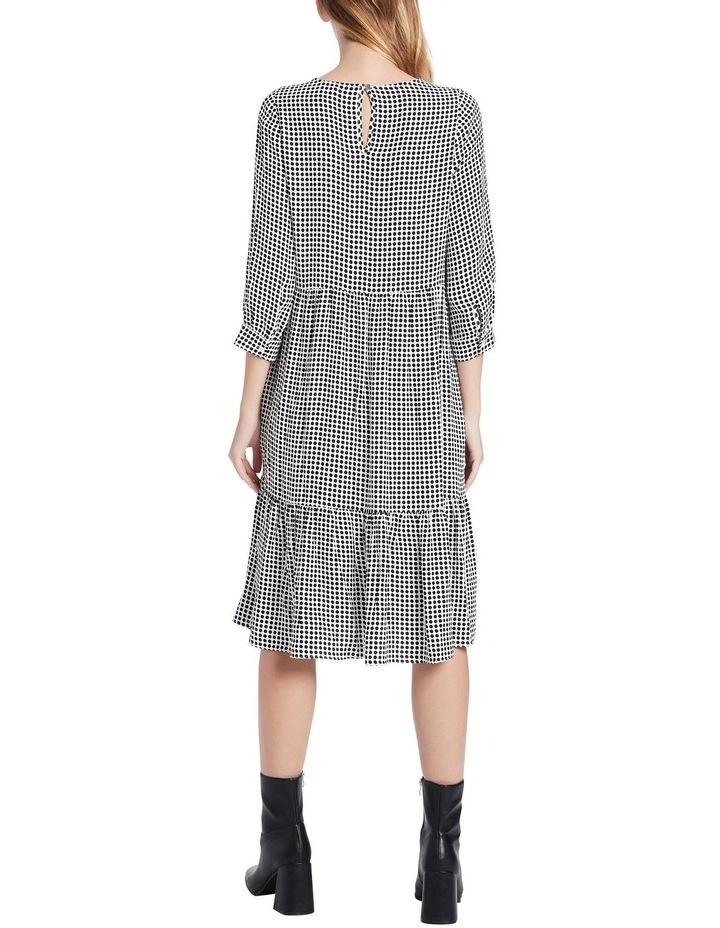 Dotty Printed Midi Dress image 3