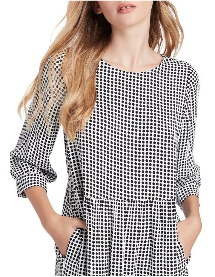 Dotty Printed Midi Dress image 4