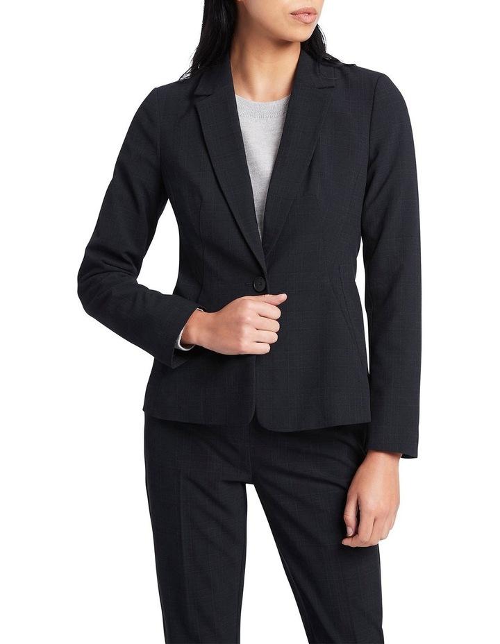 Luna Check Suit Jacket image 1