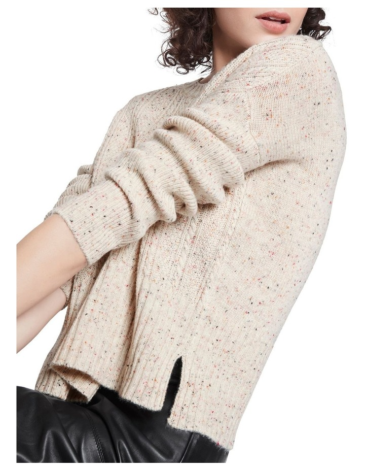 Cable Up Knit Sweater image 4