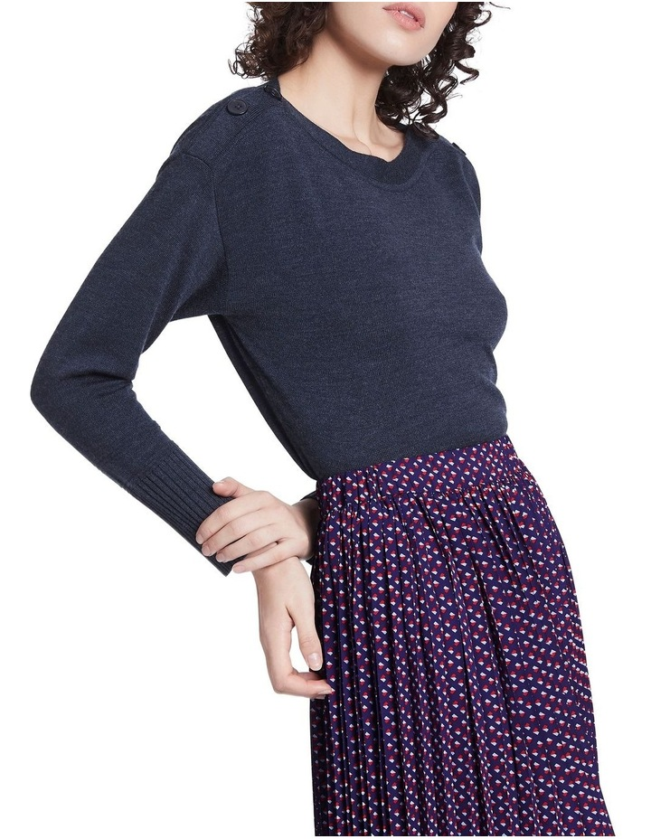 Cute As A Button Knit image 1