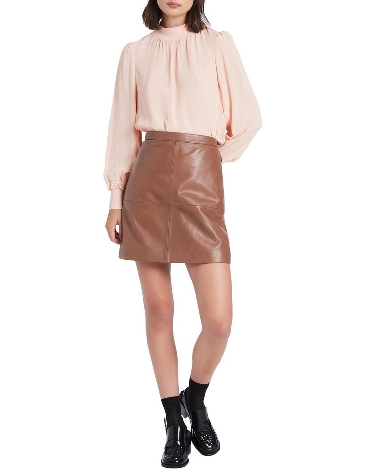 Lucy Leather Skirt image 1