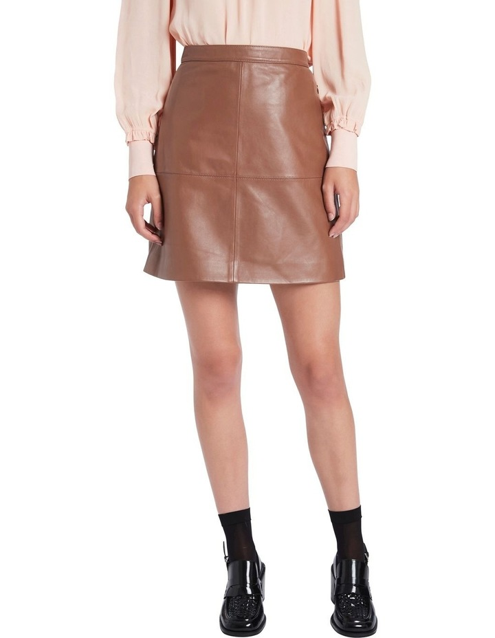 Lucy Leather Skirt image 2