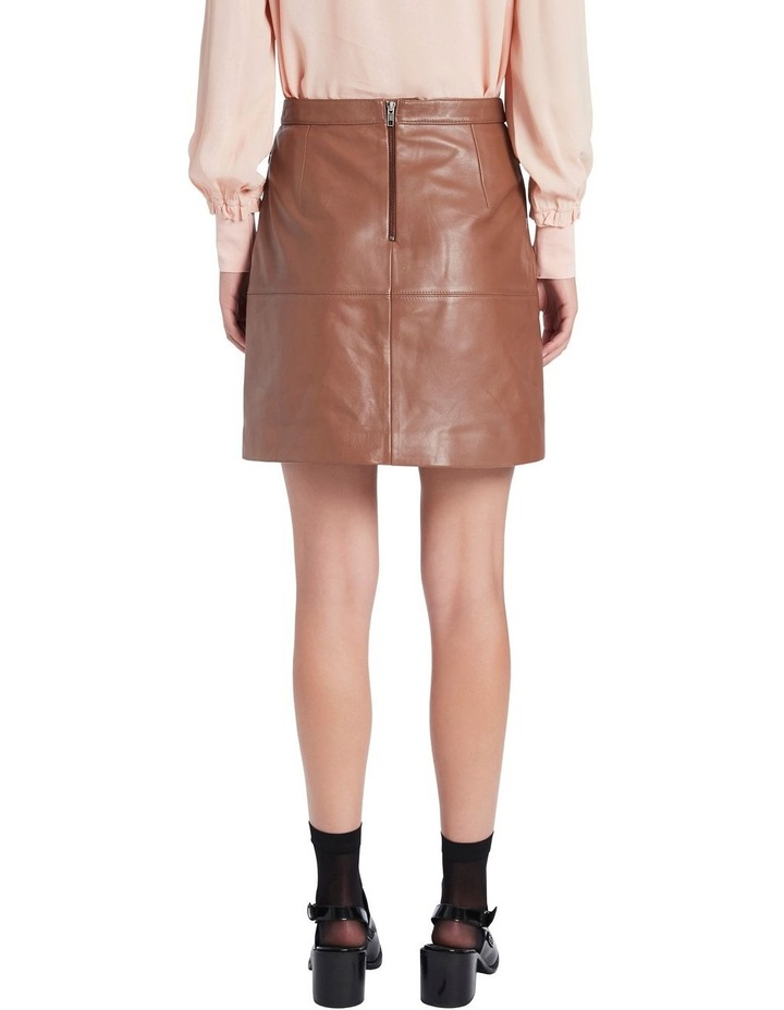 Lucy Leather Skirt image 3