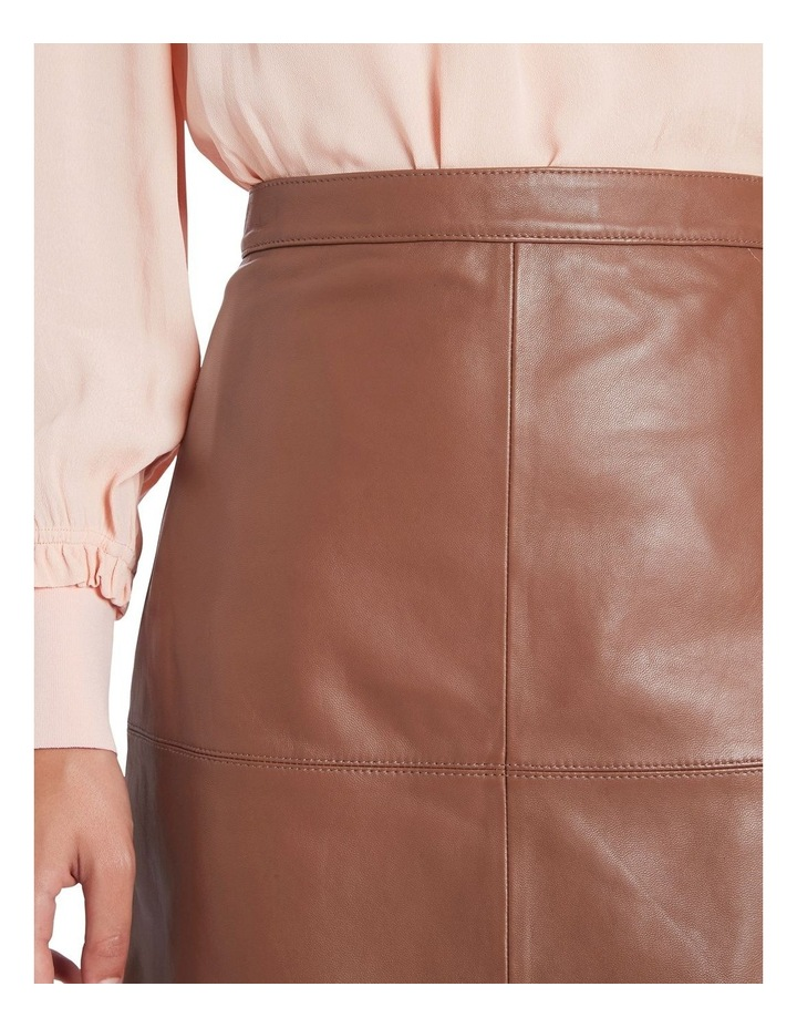 Lucy Leather Skirt image 4