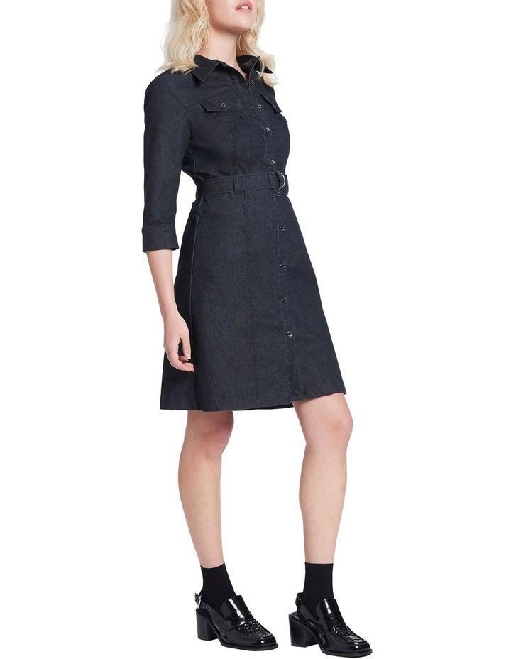 Smart Denim Dress image 2