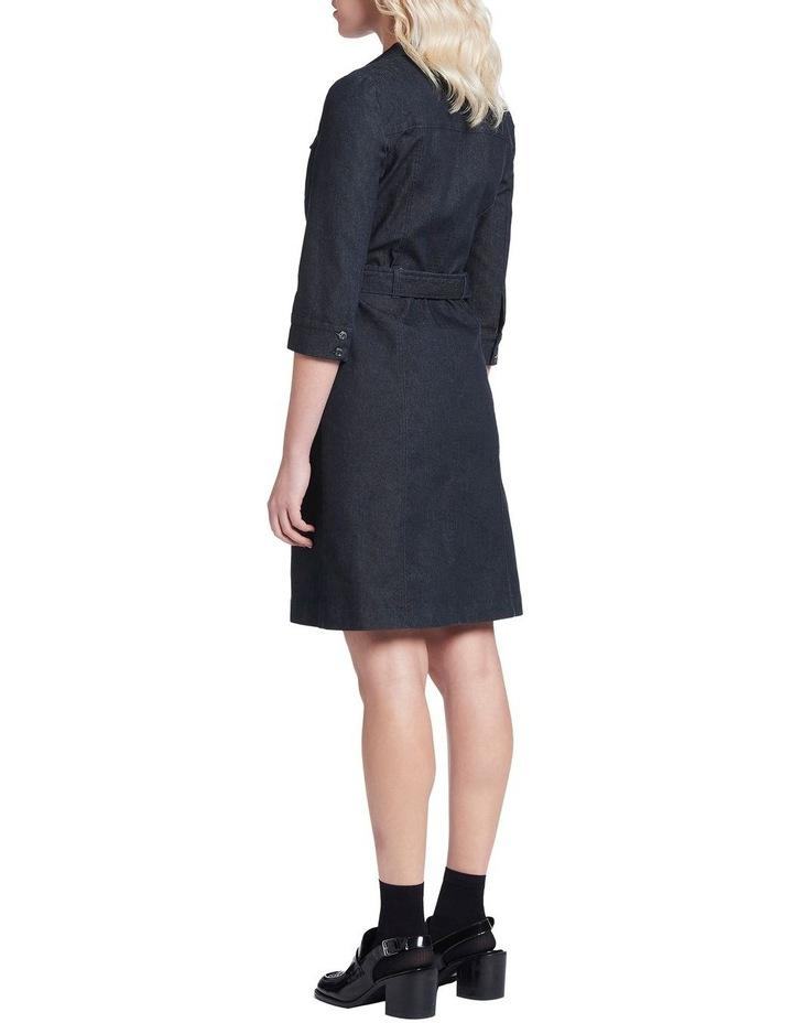 Smart Denim Dress image 3