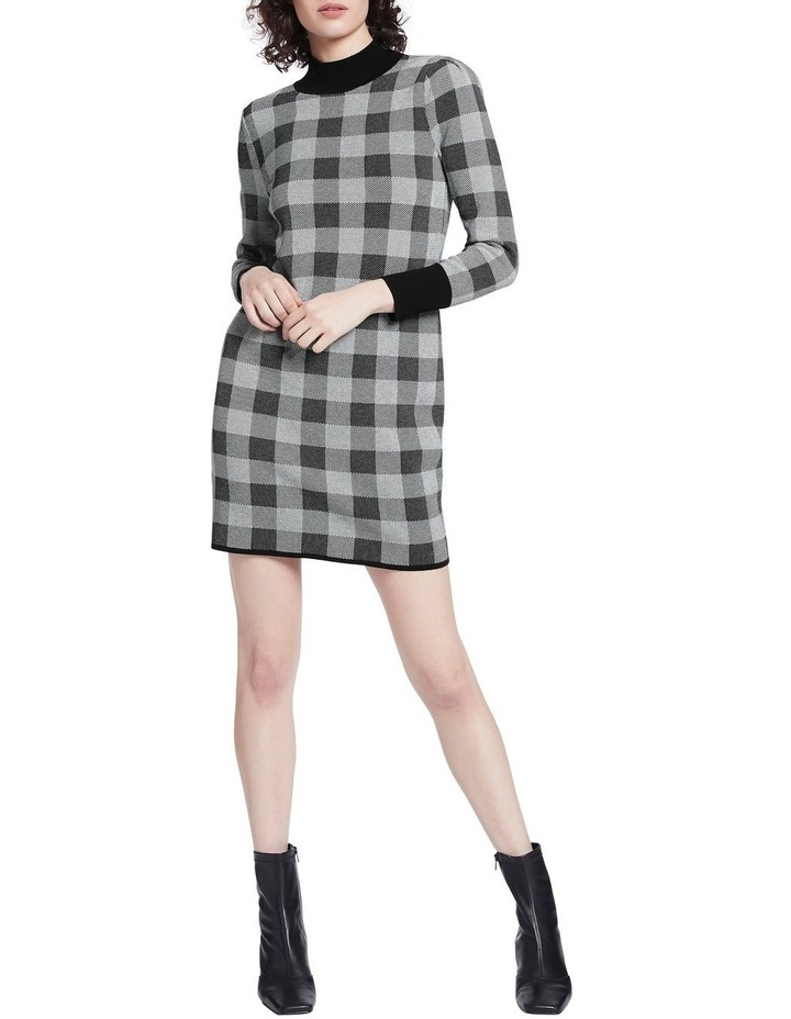 Chelsea Check Knit Dress image 1