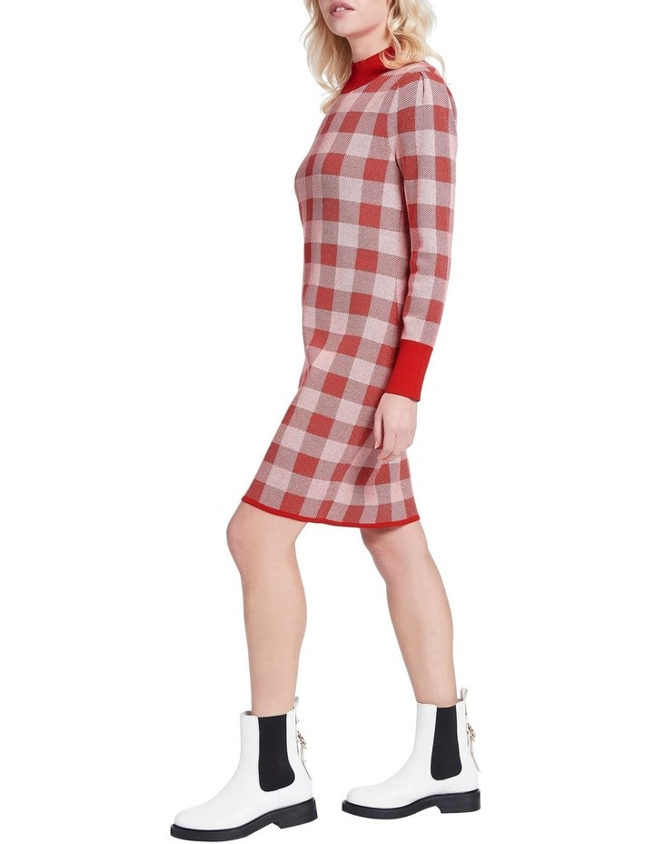Chelsea Check Knit Dress image 2