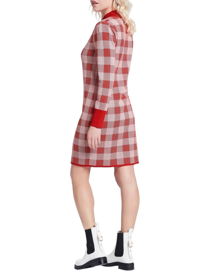 Chelsea Check Knit Dress image 3
