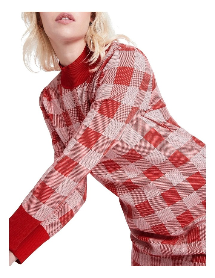 Chelsea Check Knit Dress image 4
