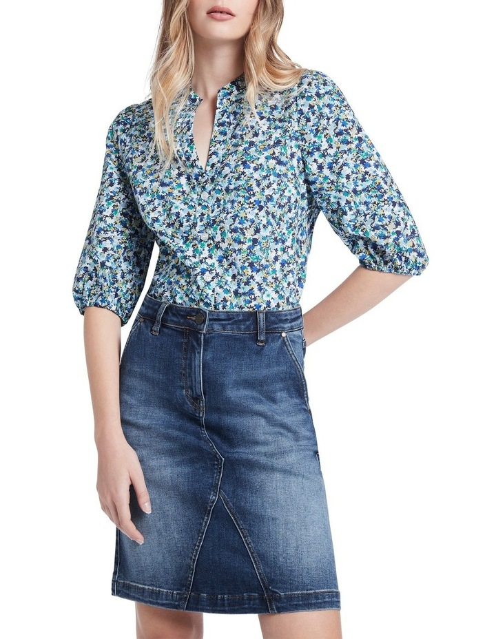 Once And Floral Cotton Shirt image 2