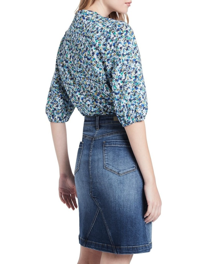 Once And Floral Cotton Shirt image 3