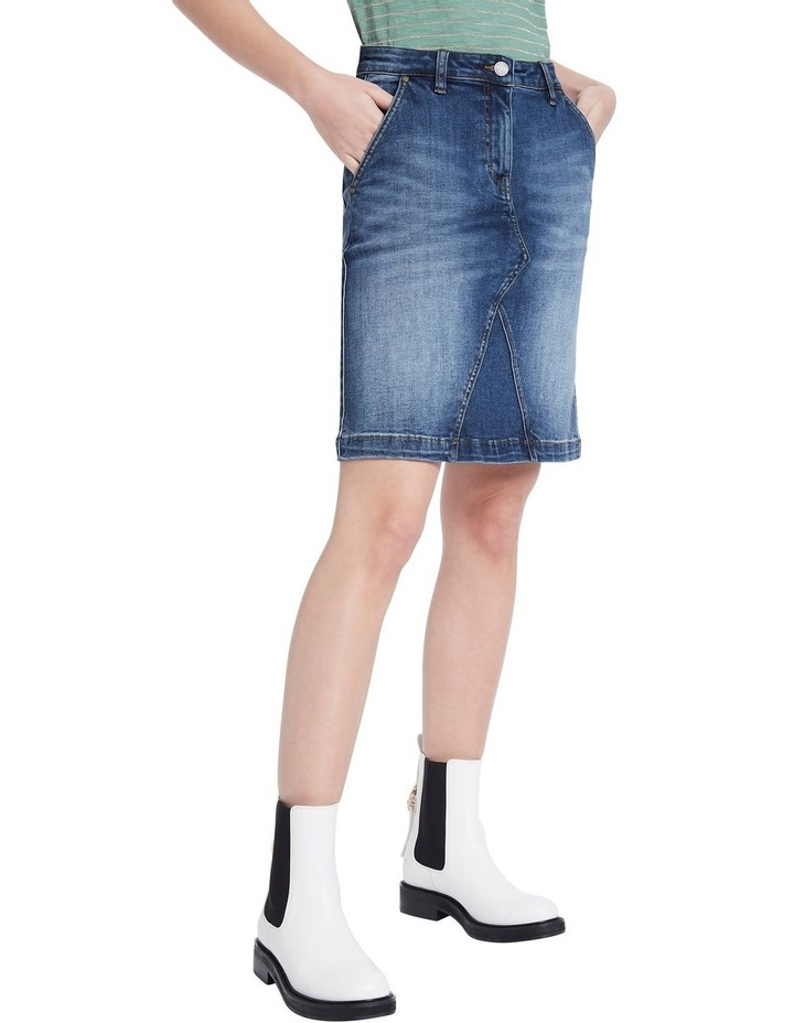 Belrose Denim Mini Skirt image 1