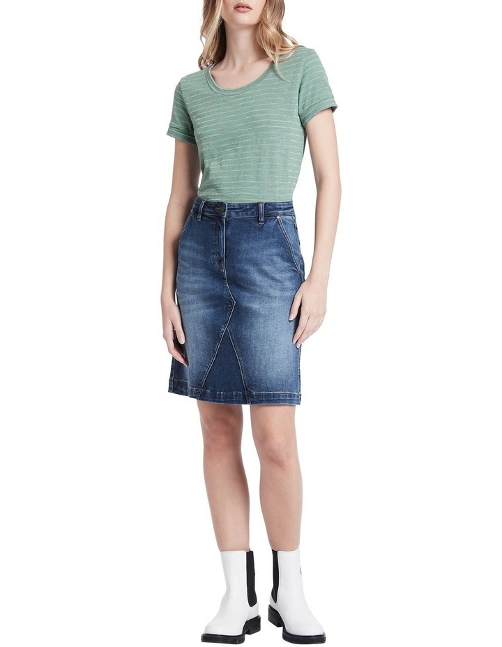 Belrose Denim Mini Skirt image 2
