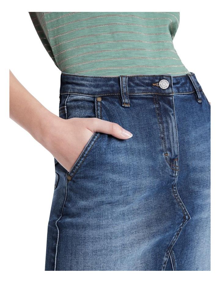 Belrose Denim Mini Skirt image 4