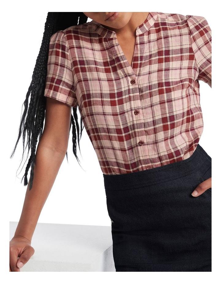 Leonie Check Shirt image 4