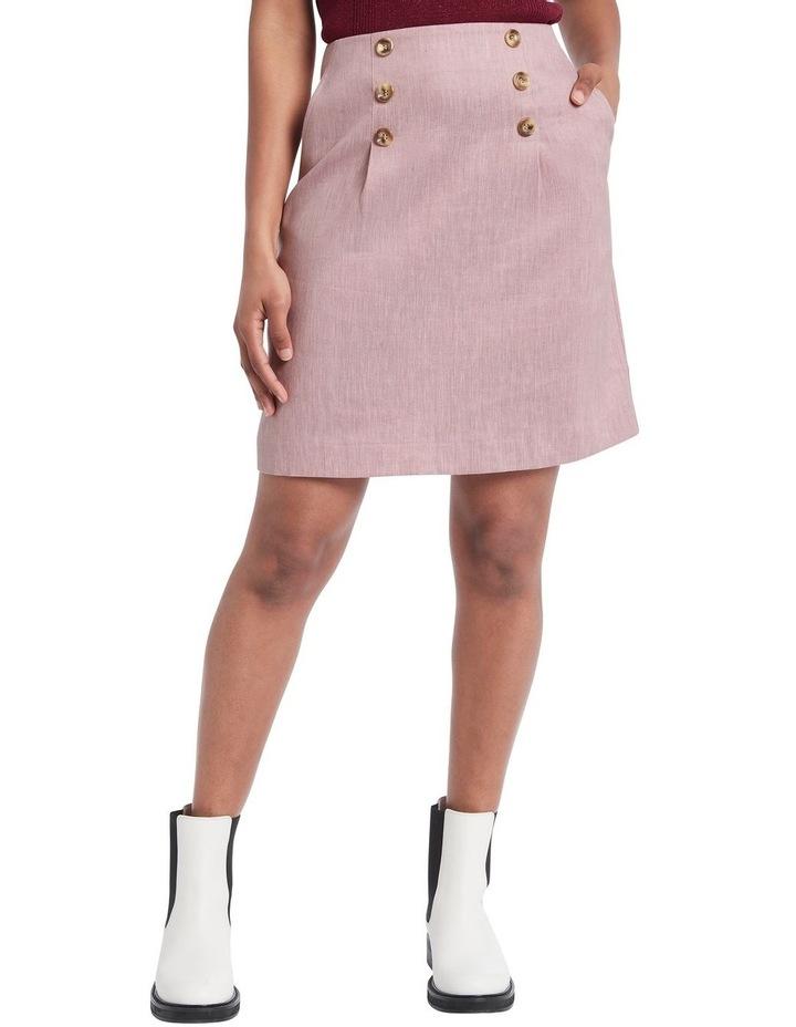 Lillie Pleat Mini Skirt image 1