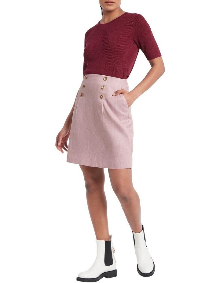 Lillie Pleat Mini Skirt image 2