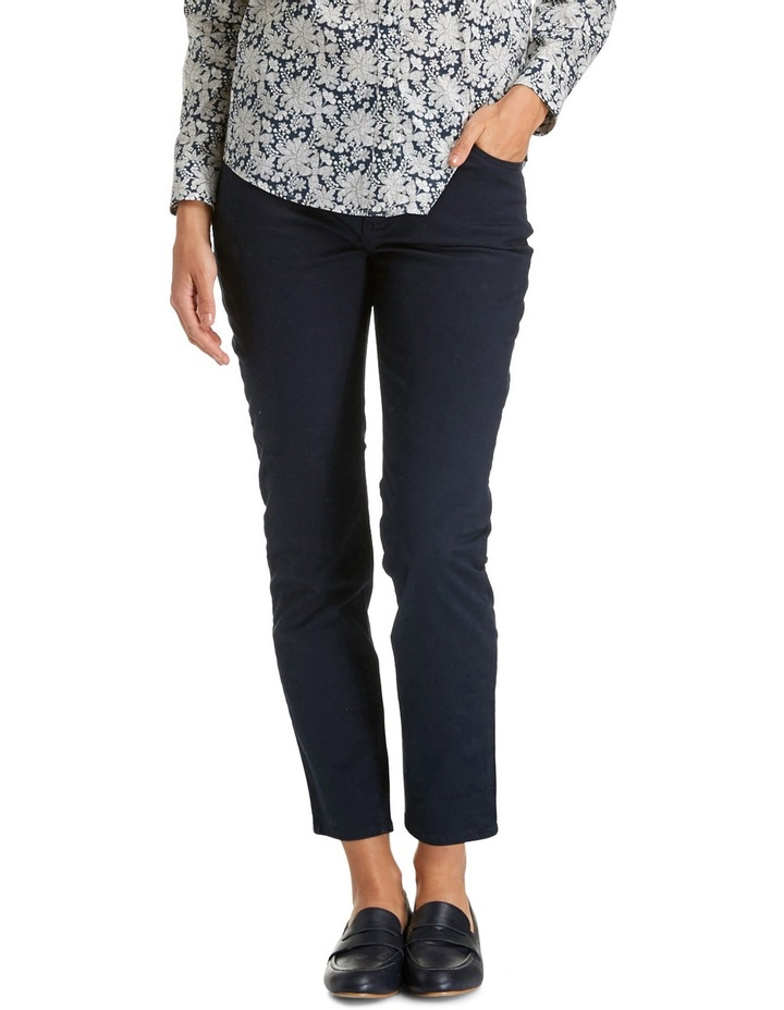 Cleo Twill Ankle Jean image 1